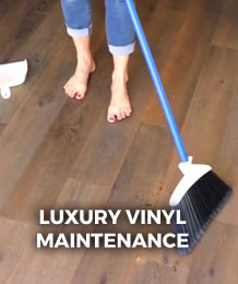 Luxury Vinyl Maintenance